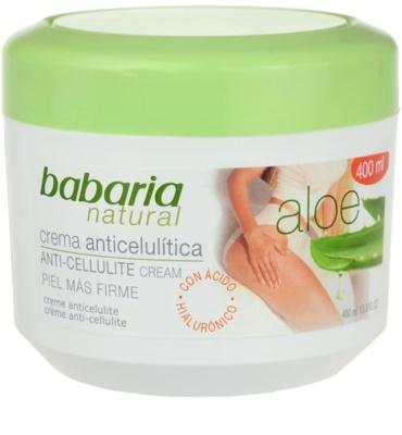 Babaria Aloe Vera крем для тіла проти розтяжок та целюліту