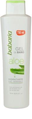 Babaria Aloe Vera gel de ducha con aloe vera