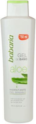 Babaria Aloe Vera gel za prhanje z aloe vero