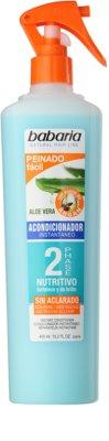 Babaria Aloe Vera odżywka dwufazowa w sprayu