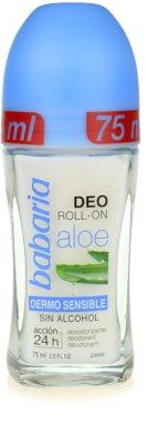 Babaria Aloe Vera Deodorant roll-on cu aloe vera