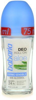 Babaria Aloe Vera deodorant roll-on saloe vera