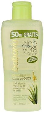 Babaria Aloe Vera Augen Make-up Entferner mit Aloe Vera