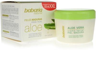 Babaria Aloe Vera crema facial para pieles maduras 1