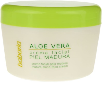 Babaria Aloe Vera крем за лице  за зряла кожа