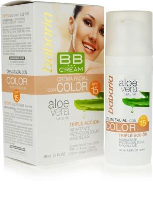 Babaria Aloe Vera BB Cream With Aloe Vera 1