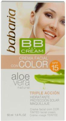 Babaria Aloe Vera BB Cream With Aloe Vera 2