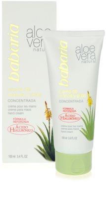 Babaria Aloe Vera crema de manos con aloe vera 1