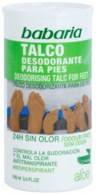 Babaria Aloe Vera pudrový deodorant na chodidla