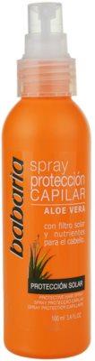 Babaria Aloe Vera spray protector para cabello maltratado por el sol 1