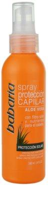 Babaria Aloe Vera spray protector para cabello maltratado por el sol