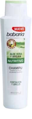 Babaria Aloe Vera Shampoo mit ernährender Wirkung mit Aloe Vera