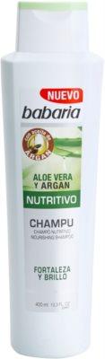 Babaria Aloe Vera tápláló sampon aleo verával
