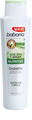 Babaria Aloe Vera поживний шампунь з алое вера