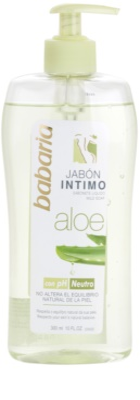 Babaria Aloe Vera dámský sprchový gel pro intimní hygienu saloe vera
