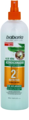 Babaria Argan Zwei-Phasen Conditioner mit Aloe Vera 1