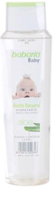 Babaria Baby feuchtigkeitsspendendes Körperöl für Kinder