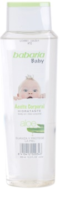 Babaria Baby vlažilno olje za telo za otroke