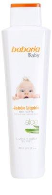 Babaria Baby jabón líquido para niños