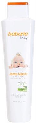 Babaria Baby sabonete líquido para crianças
