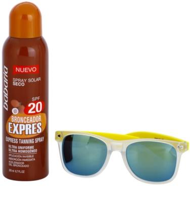 Babaria Sun Bronceador Kosmetik-Set  I.