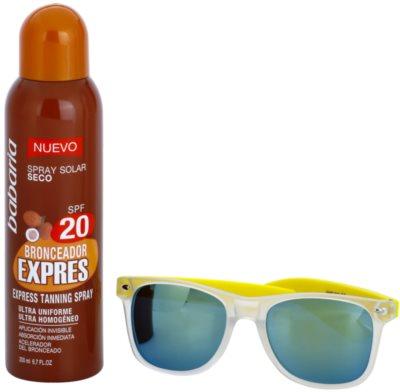 Babaria Sun Bronceador lote cosmético I.