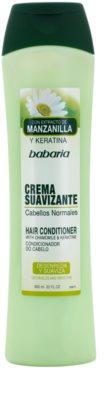 Babaria Chamomile condicionador para cabelo normal
