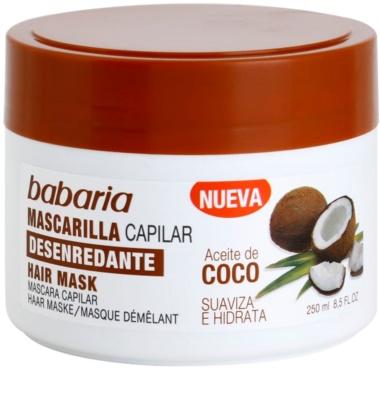 Babaria Coco hydratační maska na vlasy
