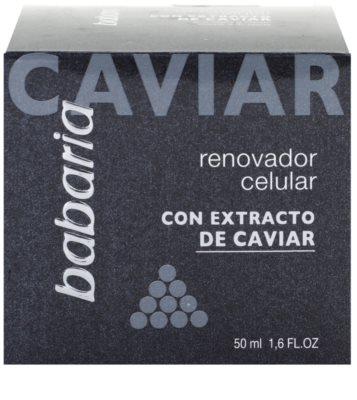 Babaria Extracto De Caviar protivráskový krém s kaviárem 4