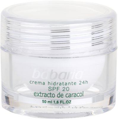 Babaria Extracto De Caracol crema hidratante con extracto de baba de caracol