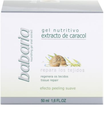 Babaria Extracto De Caracol Feuchtigkeitsgel mit Snail Extract 4