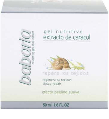 Babaria Extracto De Caracol хидратиращ гел  с екстракт от охлюви 4