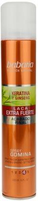 Babaria Ginseng lak za lase ekstra močno utrjevanje