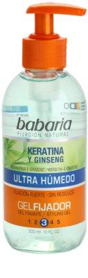 Babaria Ginseng gel para el cabello con keratina