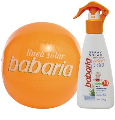 Babaria Sun Infantil pršilo za sončenje za otroke SPF 30