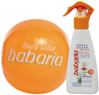 Babaria Sun Infantil spray solar para niños SPF 30