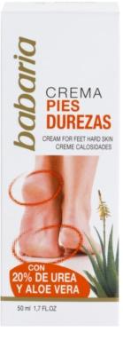 Babaria Feet creme para calcanhares rachados 1