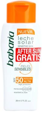 Babaria Sun Leche Solar lote cosmético VIII. 1