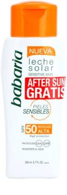 Babaria Sun Leche Solar coffret VIII. 1