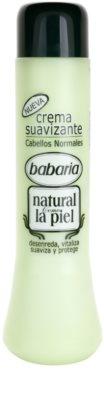 Babaria Natural condicionador com proteínas