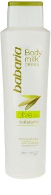 Babaria Olive Körpermilch mit  Olivenöl