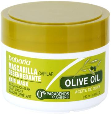 Babaria Olive mascarilla nutritiva para cabello con aceite de oliva