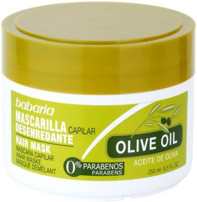 Babaria Olive nährende Haarmaske mit  Olivenöl
