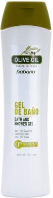 Babaria Olive gel de ducha y para baño