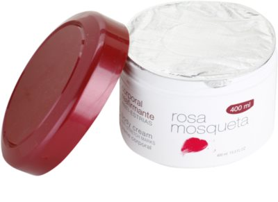 Babaria Rosa Mosqueta crema  corporal reafirmante con extracto de rosal silvestre 1