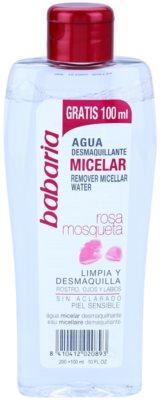 Babaria Rosa Mosqueta água micelar de limpeza para pele sensível