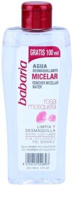 Babaria Rosa Mosqueta Mizellar-Reinigungswasser für empfindliche Haut
