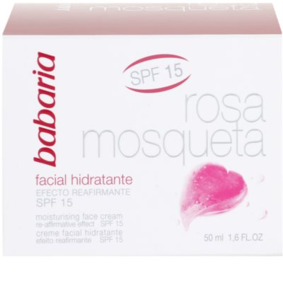 Babaria Rosa Mosqueta creme de dia hidratante with extracts of wild roses 1