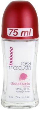 Babaria Rosa Mosqueta dezodorant roll-on z izvlečki divje vrtnice