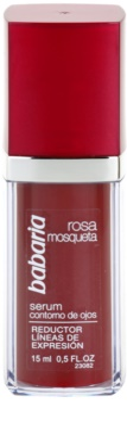 Babaria Rosa Mosqueta serum za oči proti gubam, ki nastajajo zaradi mimike